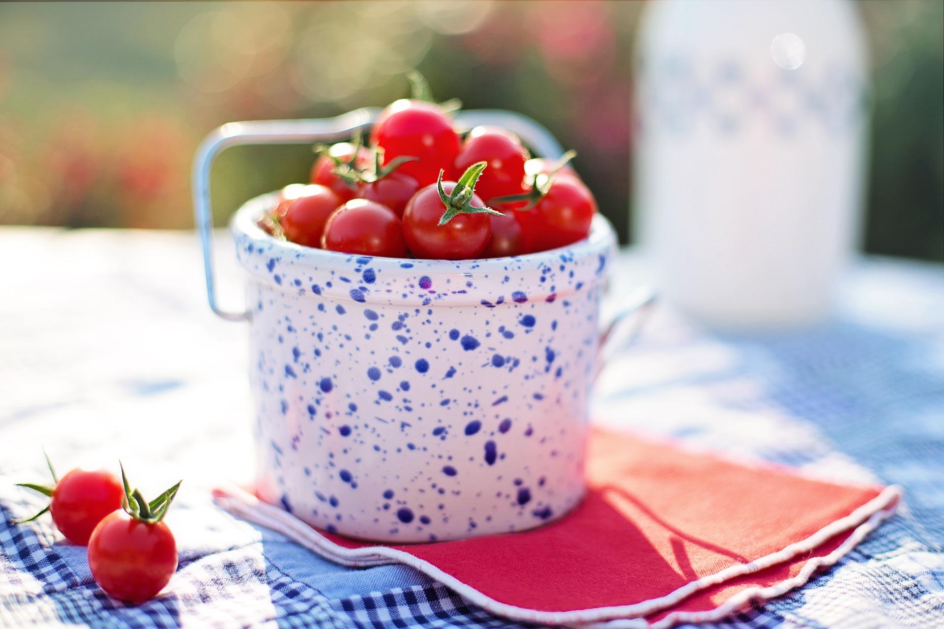 甘い甘~いトマトで生活習慣病を美味しく予防