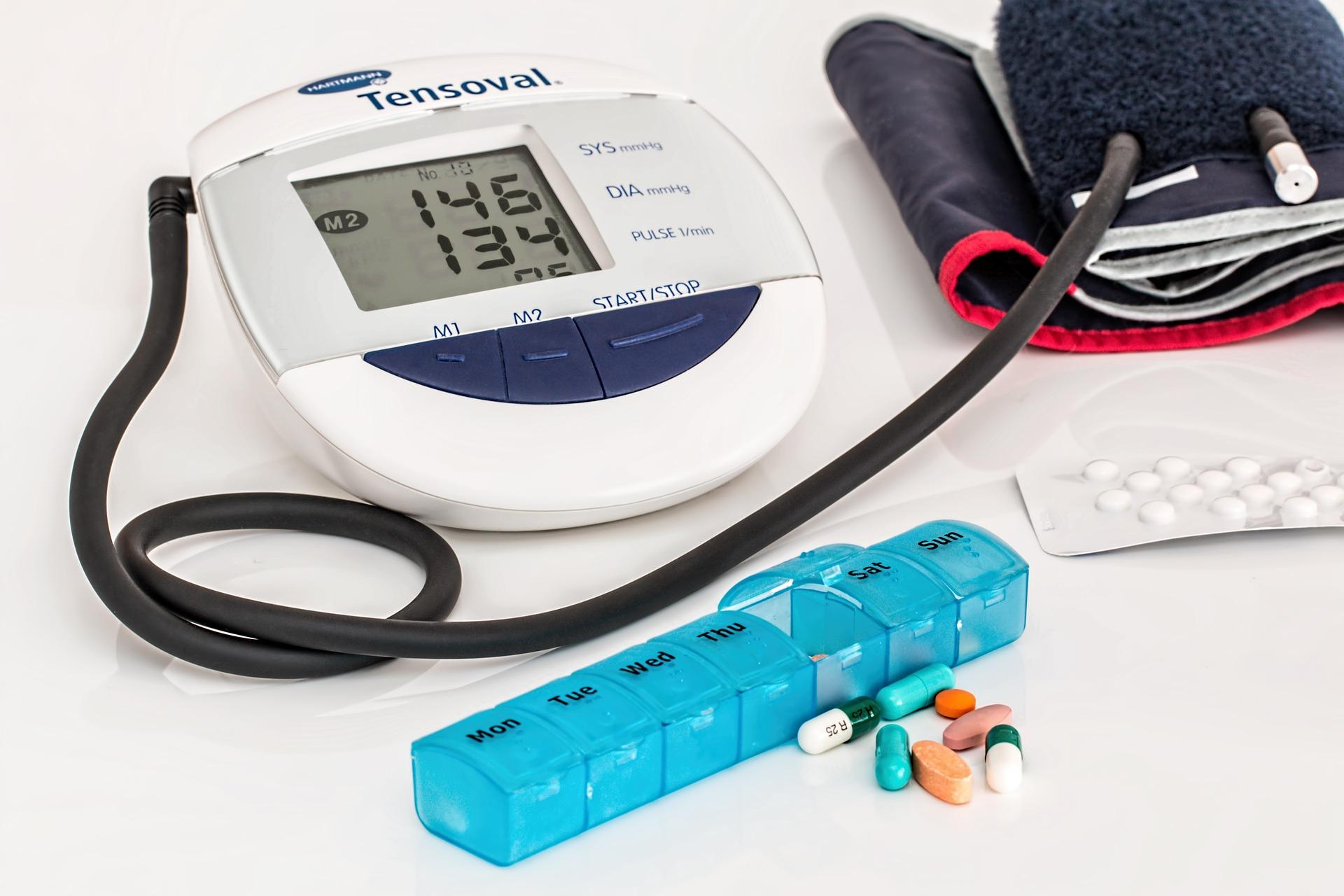 高血圧を食事&サプリメントで改善したい
